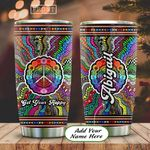 Hippie Pattern Personalized KD2 HAL2412007 Stainless Steel Tumbler