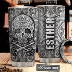 Skull Metal Style Personalized NNR2512012 Stainless Steel Tumbler