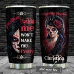 Tattooed Beautiful Disaster Personalized KD2 BGM2512005 Stainless Steel Tumbler