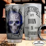Skull Personalized HHA2512020 Stainless Steel Tumbler
