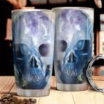 Amethyst Skull HHA2512017 Stainless Steel Tumbler
