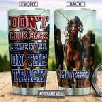 Horse Racing Personalized TAA2512004 Stainless Steel Tumbler