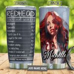 Redhead Facts Personalized TAA2512006 Stainless Steel Tumbler