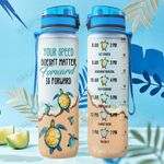 Turtle THA2512013 Water Tracker Bottle