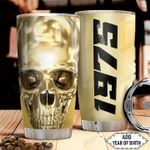 Golden Skull Personalized HHA2512019 Stainless Steel Tumbler