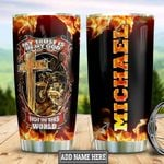Personalized Biker Faith HLS2512005 Stainless Steel Tumbler
