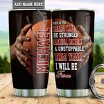 Personalized Basketball New Year TTS2512004 Stainless Steel Tumbler