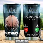 Personalized Basketball Calling HLS2512002 Stainless Steel Tumbler