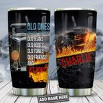 Hot Rods Lover Personalized KD2 HNL2512007 Stainless Steel Tumbler