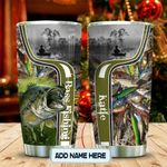 Fishing Lover Personalized KD2 MAL2512004 Stainless Steel Tumbler