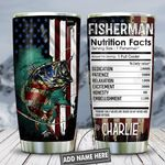 Fishing Flag Personalized KD2 HNL2512003 Stainless Steel Tumbler