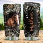 Horse Personalized KD2 BGM2612003 Stainless Steel Tumbler