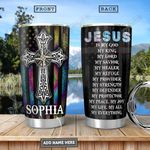 Faith Compass Personalized PYR2612002 Stainless Steel Tumbler
