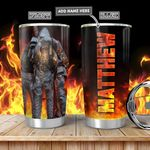 Firefighter Personalized TAA2612004 Stainless Steel Tumbler