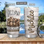 Otter Personalized TAA2612006 Stainless Steel Tumbler
