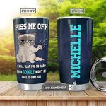 Cat Personalized TAA2612002 Stainless Steel Tumbler