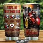 Tractor All The Time Red Presonalized KD2 HNL2612012 Stainless Steel Tumbler