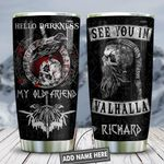 See You In Val Vikings Personalized KD2 HNL2612008 Stainless Steel Tumbler