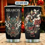 Oni Mask Tattoo Personalized KD2 MAL2612006 Stainless Steel Tumbler