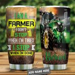 I Am A Farmer Presonalized KD2 HNL2612003 Stainless Steel Tumbler