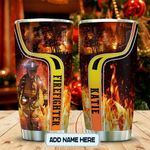 Firefighter Lover Personalized KD2 MAL2612002 Stainless Steel Tumbler