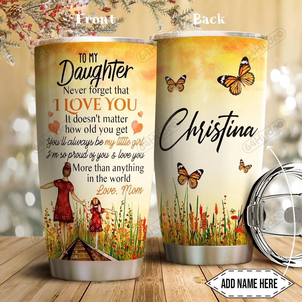 To Daughter Personalized THA2812005 Stainless Steel Tumbler