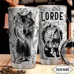 Wolf Personalized THA2812008 Stainless Steel Tumbler