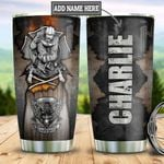 Personalized Firefighter First In Last Out TTB2812002 Stainless Steel Tumbler