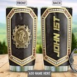 Personalized Wrestling Metal Style HLB2812014 Stainless Steel Tumbler