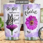 Butterfly Faith Personalized NNR2812001 Stainless Steel Tumbler
