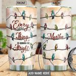 Hummingbird Personalized NNR2812004 Stainless Steel Tumbler