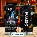 Gnome Collect Yarn Personalized KD2 MAL2812005 Stainless Steel Tumbler