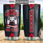 Personalized Video Game HLZ2912017 Stainless Steel Tumbler
