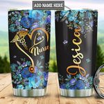 Personalized Nurse Heart TTZ2912013 Stainless Steel Tumbler