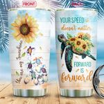 Turtle Sunflower KD2 BGM2912008 Stainless Steel Tumbler
