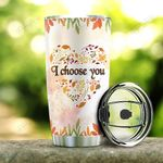 Deer Couple Personalized PYR2312015 Stainless Steel Tumbler