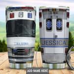 Personalized Nurse Emergency Ambulance Car HLB3012008 Stainless Steel Tumbler