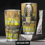 Personalized Firefighter Uniform DNB3012003 Stainless Steel Tumbler