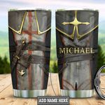 Personalized Knight Templar Armor HLB3012005 Stainless Steel Tumbler