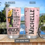 Grandma Witch Personalized HHA3012022 Stainless Steel Tumbler