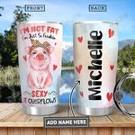 Pig Big Personalized HHA3012024 Stainless Steel Tumbler