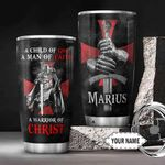 God Warrior KD4 Personalized THA3012027 Stainless Steel Tumbler