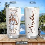 Black Women Personalized PYR3012015 Stainless Steel Tumbler