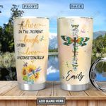 Dragonfly Personalized PYR3012016 Stainless Steel Tumbler