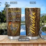 Deer Couple Personalized NNR3012007 Stainless Steel Tumbler