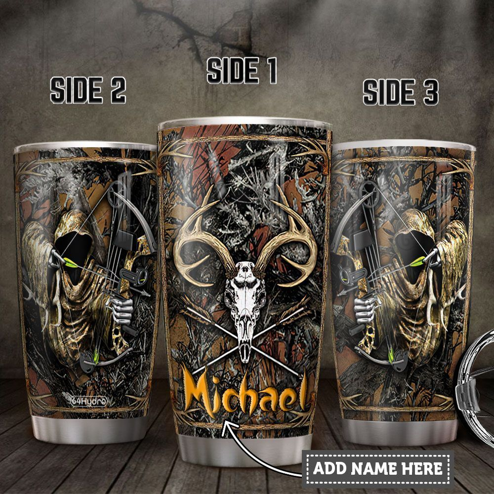 Personalized Deer Hunter TTZ3112007 Stainless Steel Tumbler