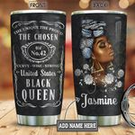 Black Women Brand Personalized KD2 BGM3112002 Stainless Steel Tumbler