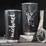 Deer Hunting Personalized HHA3112005 Stainless Steel Tumbler