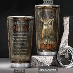 Deer Advice Personalized PYR3112011 Stainless Steel Tumbler