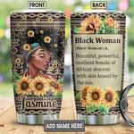 Personalized Black Women Faith BGM0401002Z Stainless Steel Tumbler